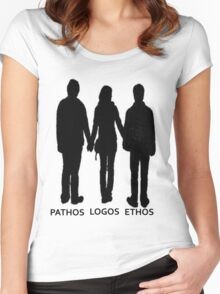 The Golden Trio-Elements of Persuasion Women's Fitted Scoop T-Shirt
