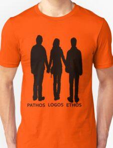 The Golden Trio-Elements of Persuasion Unisex T-Shirt