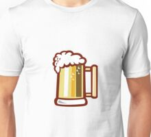 Beer Stein Isolated Retro Unisex T-Shirt