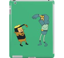 Blue & Gold iPad Case/Skin