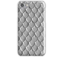 Dragon Scale Armor - Black iPhone Case/Skin