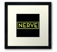Nerve Survive Game Film  Framed Print