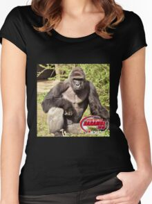 Dicks out for Harambe Movement 2016 Women's Fitted Scoop T-Shirt