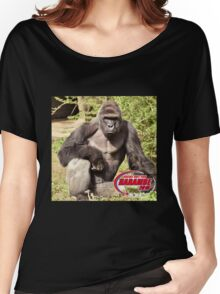 Dicks out for Harambe Movement 2016 Women's Relaxed Fit T-Shirt