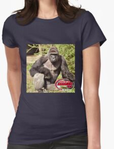 Dicks out for Harambe Movement 2016 Womens Fitted T-Shirt