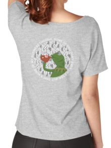 Kermit Sipping Tea (But that's none of my business) Women's Relaxed Fit T-Shirt