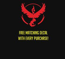 free matching decal with every purchase moltres logo Unisex T-Shirt