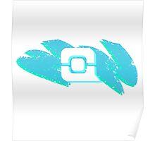 tPC Swoosh Logo Icon - Light Poster