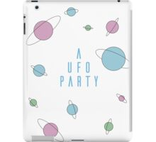 A UFO PARTY - X FILES iPad Case/Skin