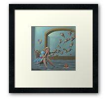 Alice's Pool of Tears Framed Print