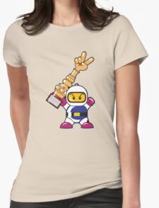 Bomberman Champion Womens Fitted T-Shirt