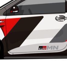 Toyota Scion GRMN iQ Racing Concept Sticker