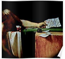 Deathconsciousness - The Death of Marat Poster