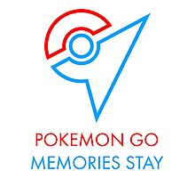 Pokemon Go Memories Stay Photographic Print