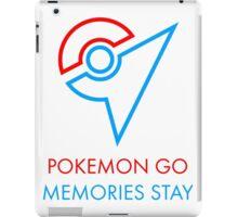 Pokemon Go Memories Stay iPad Case/Skin