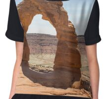 Delicate Arch at Arches National Park Chiffon Top