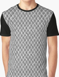 Griffin Scale Armor - Silver Graphic T-Shirt