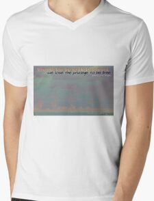 The Freedom In Being Different © Vicki Ferrari Mens V-Neck T-Shirt