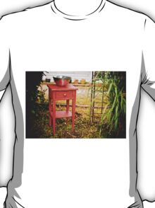 Little Red Table T-Shirt