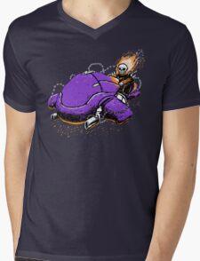 Master Rider Mens V-Neck T-Shirt