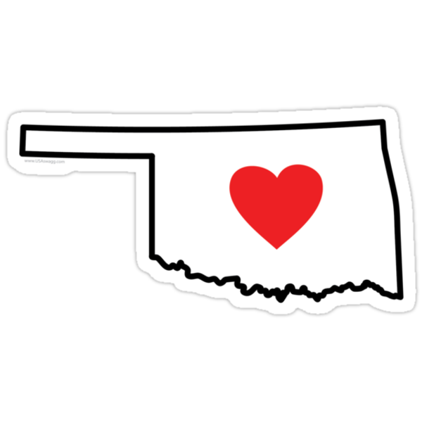 I Love Oklahoma by Carolina Swagger