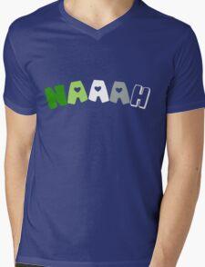 Naaah (Aromantic) Mens V-Neck T-Shirt
