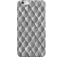 Lion Scale Armor - Silver iPhone Case/Skin