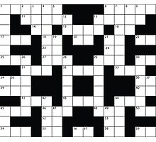 Crosswords Thinking Photographic Print