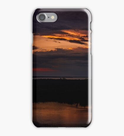 Rigby Island At Sunset iPhone Case/Skin