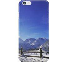 Winter Mountains iPhone Case/Skin