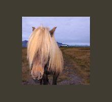 Icelandic Horse with impressing mane Unisex T-Shirt