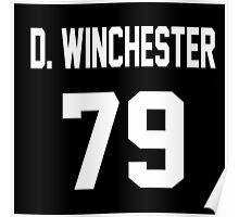 Supernatural Jersey (Dean Winchester) Poster