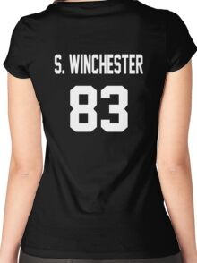 Supernatural Jersey (Sam Winchester) Women's Fitted Scoop T-Shirt