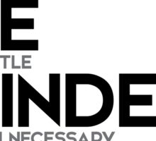 always be a little kinder than necessary - j.m. barrie Sticker