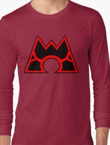 Team Magma (Style B) Long Sleeve T-Shirt