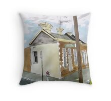 Greeves Street Fitzroy  Throw Pillow