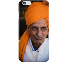 Aged Indian Man iPhone Case/Skin