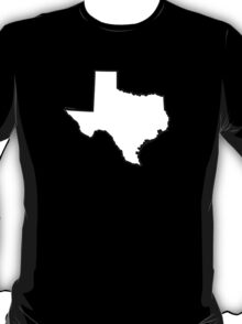 Texas State Outline T-Shirt
