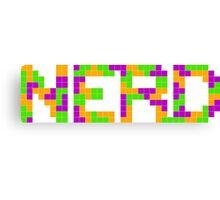 Tetris Nerd Canvas Print