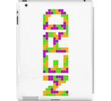 Tetris Nerd iPad Case/Skin