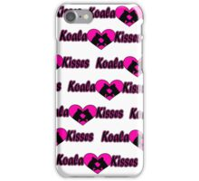 Koala Kisses #2 Pattern  iPhone Case/Skin