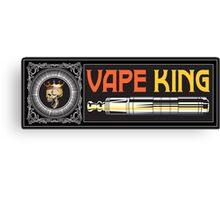 The Vape King v2 Canvas Print