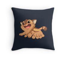 Kitty Bus Throw Pillow