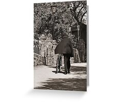 Hilly Beat Greeting Card