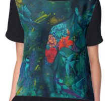 Her Love Takes Flight Chiffon Top