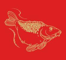 Carp Fishing Angling Fish Scales Illustration Kids Tee
