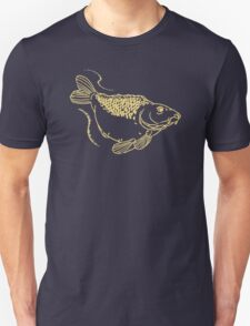 Carp Fishing Angling Fish Scales Illustration Unisex T-Shirt