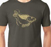 Carp Fishing Angling Fish Scales Illustration Unisex T-Shirt