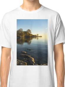 Early Morning Gold - Soft Fall Reflections Classic T-Shirt