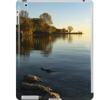 Early Morning Gold - Soft Fall Reflections iPad Case/Skin